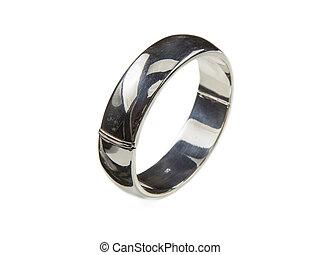 Robust Silver bracelet - Plain robust silver bracelet...