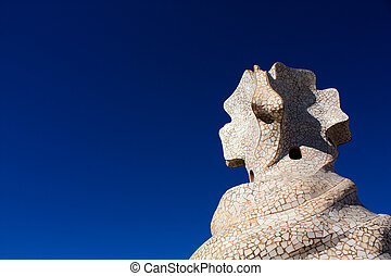 Barcelona and Gaudiacute;: La Pedrera or Casa Mila - On the...