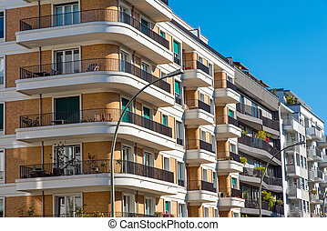 Luxury apartment buildings - Some luxury apartment buildings...