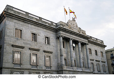 The city hall of Barcelona (Ajuntament de Barcelona)