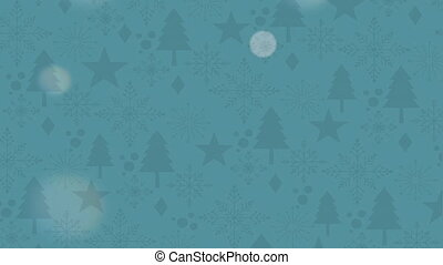 Merry Christmas card, Video Animation HD 1080