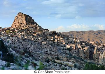 Volcanic landscape of Uchisar