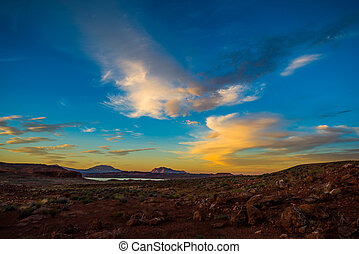 Henry Mountains, South Central Utah - Glen Canyon National...