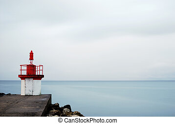 30 sec before lighthouse - Long exposure before Cotinière...