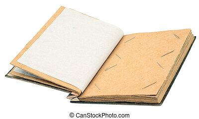 Empty photoalbum  - Blank space for photo in empty album