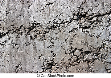 Rustic concrete wall - Simple and rough texture of a...