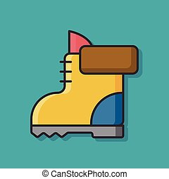 camp boot icon