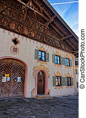 Charming houses of Garmisch-Partenkirchen - Charming houses...