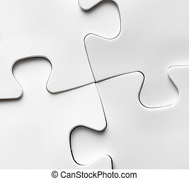 Hand with missing jigsaw puzzle piece. Business concept