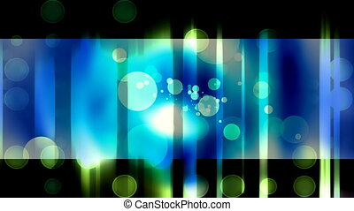 Abstract Blue Green Circles Loop - Looping Abstract Animated...