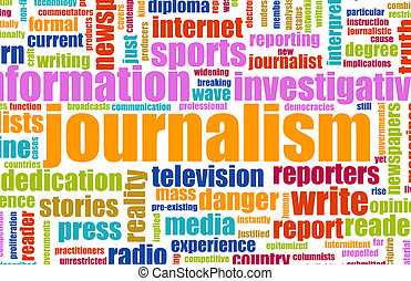 Journalism Career Newspaper Report as a Concept