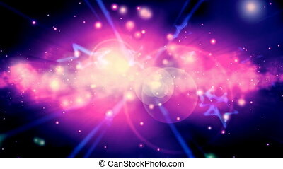 Cosmic Retro Stars Loop - Looping Cosmic Retro Stars...