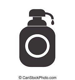 Shower Gel, Liquid Soap Dispenser Icon