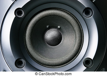 Loud speaker - Big stereo loud speaker close up