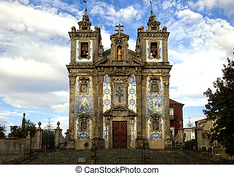 The Igreja de Santo Ildefonso church in Porto - The Igreja...