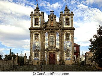 The Igreja de Santo Ildefonso church in Porto - The Igreja...