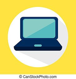 Technology and electronic device, vector illustration...
