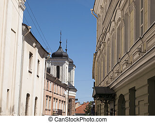 Vilnius,Lithuania - Picture from Vilnius in Lithuania