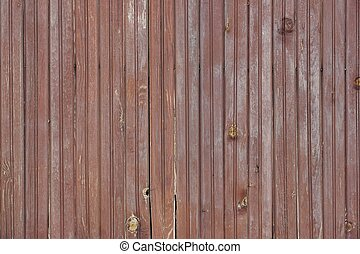 Weathered Cracked Brown Old Wood Plank Panel Texture