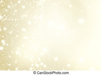 Abstract Background with Christmas Glitter Defocused Bokeh,...