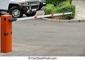 Car Parking Control System, Automatic Rising Arm Barrier -...
