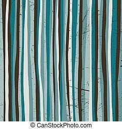 Blue vector stripes.
