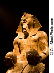 Quest - Statue in Egyptian Museum of Turin the second in the...
