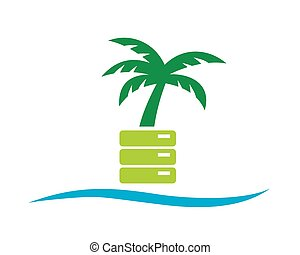 Coconut Tree - Good logo for your company