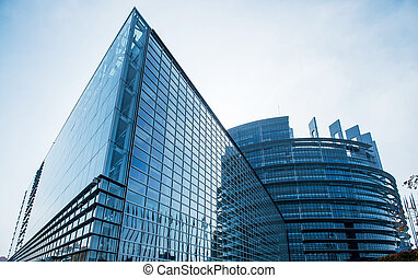 Seat of the European Parliament in Strasbourg,