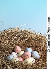 巢, 復活節, 蛋