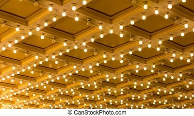 Blinking Concert Hall Ceiling Light