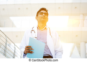 Asian Indian medical doctor