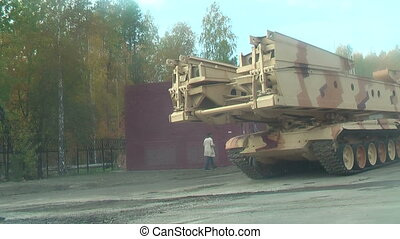 Bridge layer MTU-72 and other engineer equipment - Nizhniy...