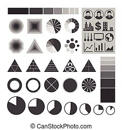 Infographic icons set - Infographic icons, Element of...