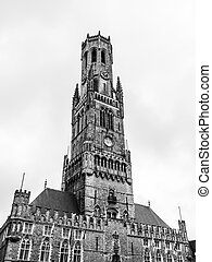 Belfry Tower of Bruges - The Belfry Tower of Bruges, or...