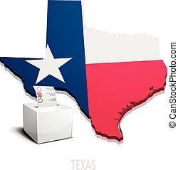 Ballotbox Map Texas