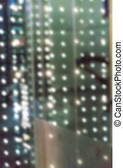 Bokeh street light  - Bokeh street light