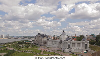 Panorama of Kazan - Kazan is a big city in Russia. Video...
