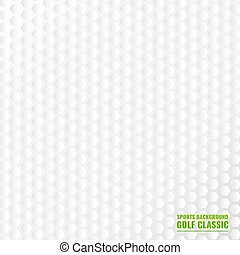 Classic golf . Sport background - Realistic rendition of...