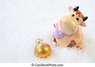 christmas bull-calf-souvenir - bull-calf-souvenir and...