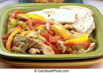 mexican fajitas - mexican fajitas made with delicious...