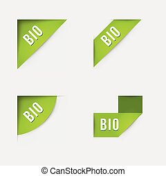Bio and Bio product labels
