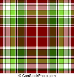 Seamless red and green pattern