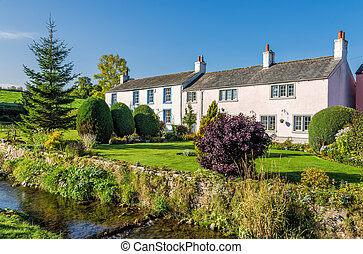 Caldbeck Village, Cumbria, England - High Houses in Caldbeck...