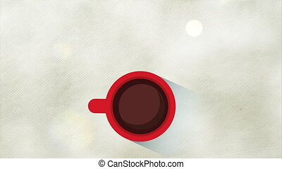Coffee Internet design, Video Animation HD1080