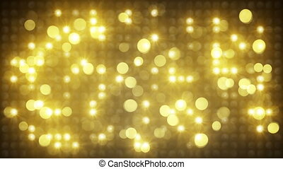 gold light disco wall loopable back