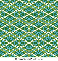 Geometric lined seamless pattern, colorful vector endless...