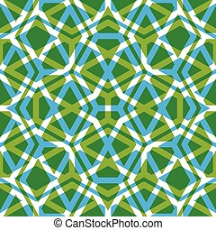 Geometric symmetric lined seamless pattern, colorful vector...