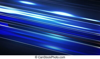 blue stripes motion blur loop