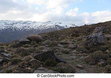 Sierra Nevada In the Alpujarra Mountains, in the province of...
